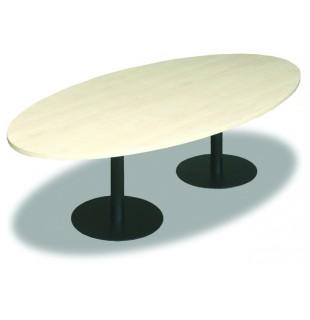 Jednací stůl elipsa 250
