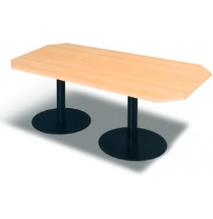 Jednací stůl 220 - 2 × centrální noha