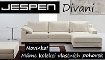 Moderní pohovky Jespen - Levně !